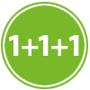 1+1+1 Formula