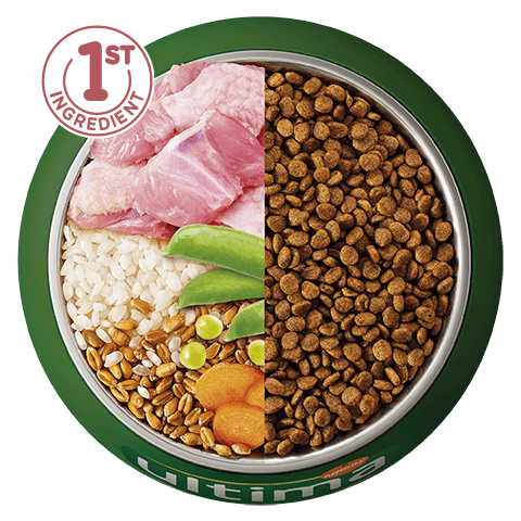 Turkey, rice, wholegrain cereals and vegetables