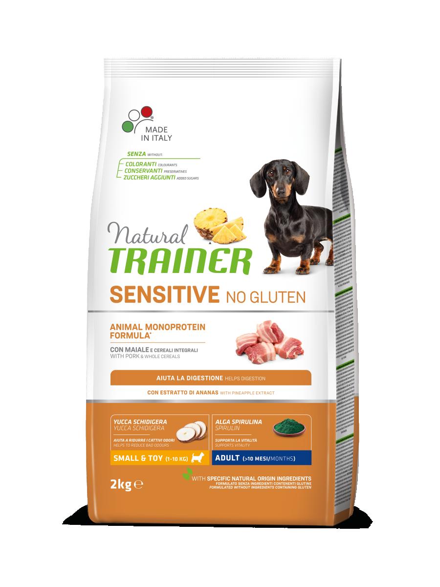 Sensitive No Gluten Mini Adult Pork