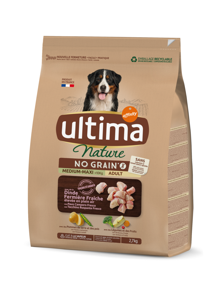 Nature No Grain Medium-Maxi Pavo