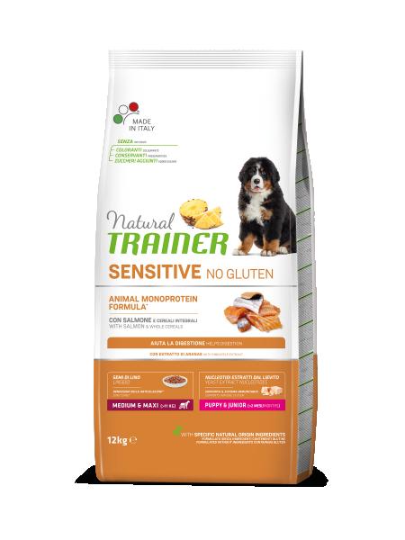 Sensitive No Gluten Medium&Maxi Puppy&Junior con Salmón