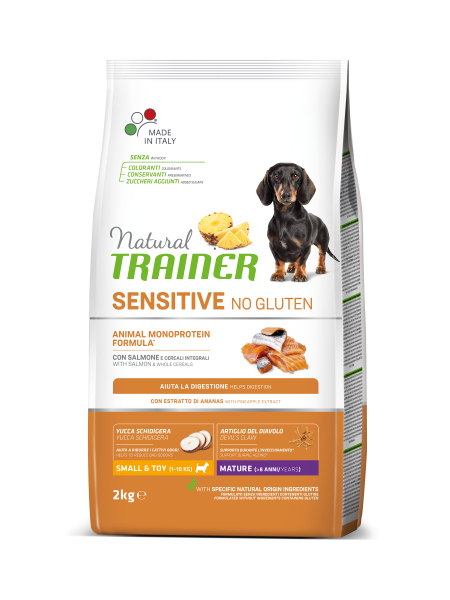 Sensitive No Gluten Mini Mature Salmon