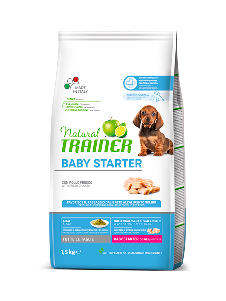 Baby Starter All Size White meats