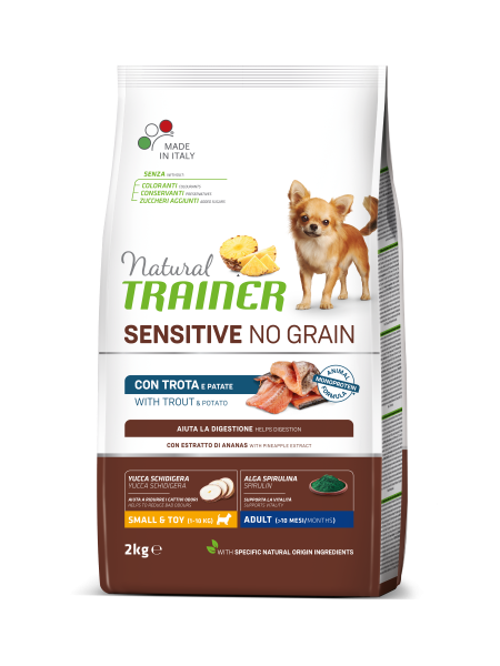 Sensitive No Grain Mini Adult with Trout and Potatoes