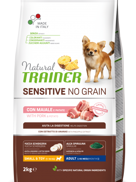 Sensitive No Grain Mini Adult with Pork and Potatoes
