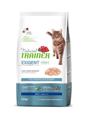 Natural Cat Exigent Adult with White Meats