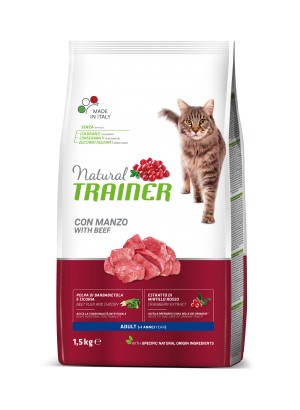 Natural Cat Adult with Beef