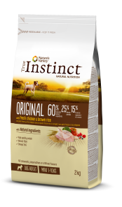 ORIGINAL POLLO CON ARROZ INTEGRAL Mini – Adult