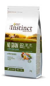 NO GRAIN CON SALMÓN FRESCO Y PATATA – Mini – Adult